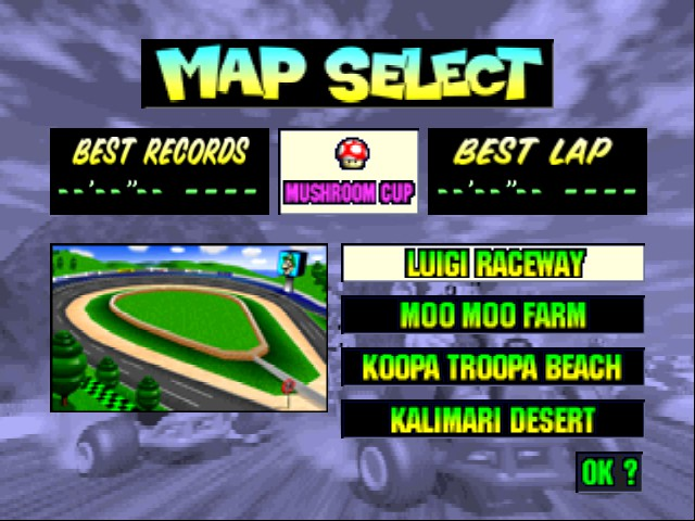 Mario Kart 64 - Level Luigi Raceway -  - User Screenshot