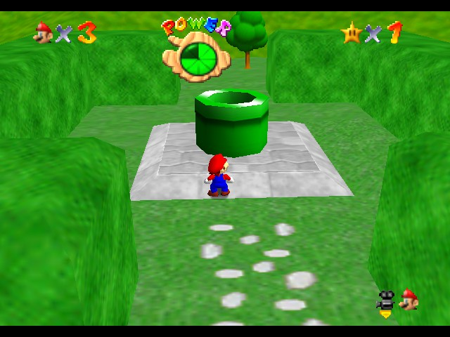 Super Mario 64 - Star Road - Location Pirahna Pond -  - User Screenshot