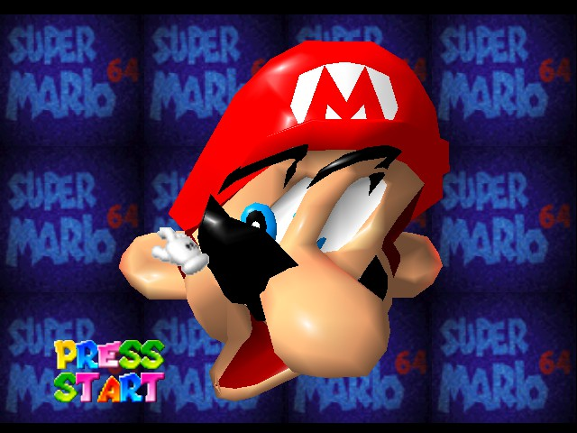 Super Mario 64 - Introduction  - Ouch!!! - User Screenshot