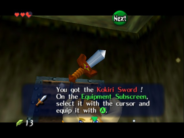 Legend of Zelda, The - Ocarina of Time - Master Quest - All Hail the Sword - User Screenshot