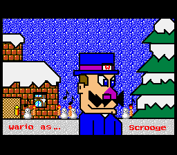 Mario Paint (Joystick) - Wario as Scrooge! - User Screenshot