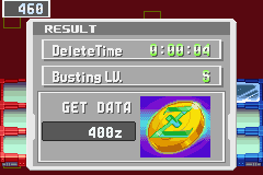 Megaman Battle Network 3 Blue - 0:00:04 woo hoo  - User Screenshot