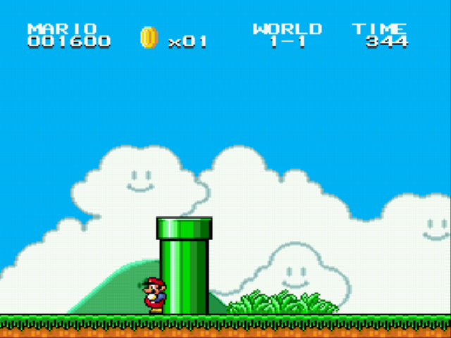 Super Mario Bros II 1998 (hack) - Pipe - User Screenshot