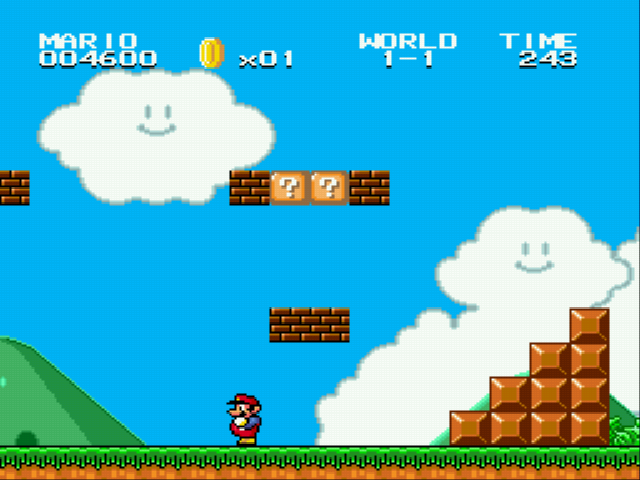 Super Mario Bros II 1998 (hack) - Bricks - User Screenshot