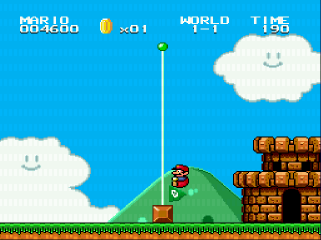 Super Mario Bros II 1998 (hack) - HOME! - User Screenshot
