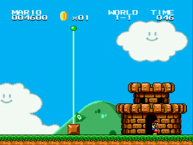 Super Mario Bros II 1998 (hack) - Inside my home - User Screenshot