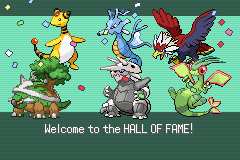 Pokemon Flora Sky - Ending  - I win... AGAIN! XD - User Screenshot