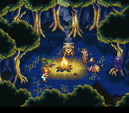Chrono Trigger - Location 1000 A.D. - Forest Side Quest, before saving Luca