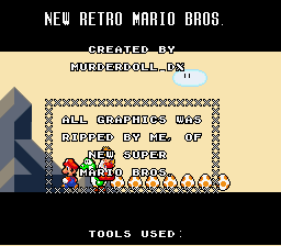 New Retro Mario Bros - Ending  -  - User Screenshot