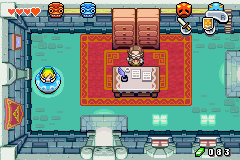 The Legend of Zelda - The Minish Cap - Location Hyrule Town - Nobody will find me in here - User Screenshot