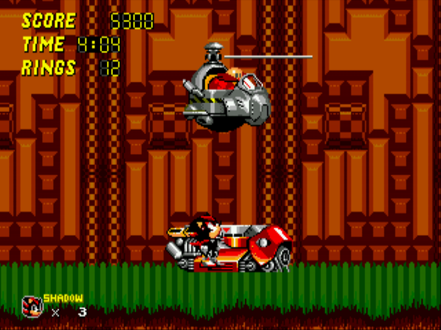 Sonic 2 - Project Shadow - tell me about my past eggman - User Screenshot