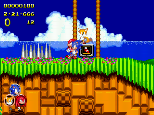 Sonic 2 Heroes - sonic: look knuckles spikes - User Screenshot