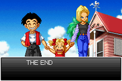 Dragon Ball Z - Supersonic Warriors - Ending  - andriod 18 is a women and married to krilln - User Screenshot