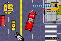 Grand Theft Auto Advance - Introduction  - firetruck - User Screenshot