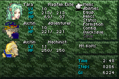 Final Fantasy VI Advance - Character Profile  - MP man - User Screenshot