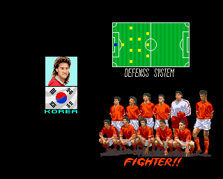 Seibu Cup Soccer (set 1) - Character Profile  -  - User Screenshot