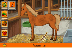 Bibi und Tina - Ferien auf dem Martinshof - Mini-Game Pet Care - Mucking the Stalls - User Screenshot