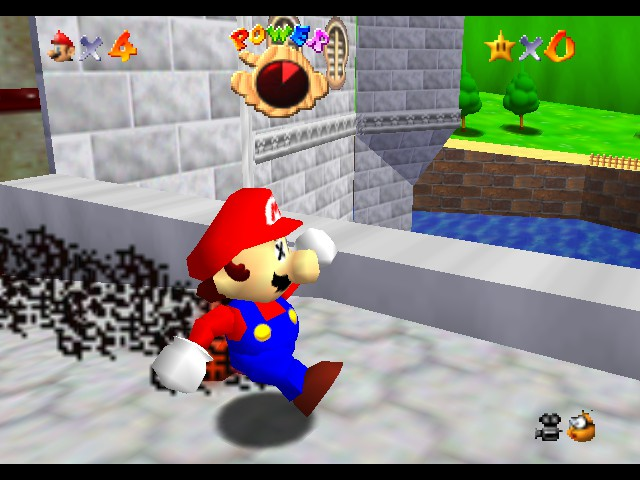 Kaizo Mario 64 - :D Sonic Mario - User Screenshot