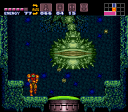 Super Metroid - Battle  - Poor Sprore Spawn.. - User Screenshot