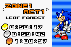 Sonic Advance 2 - how