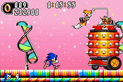 Sonic Advance 2 - Level  - Tails! - User Screenshot