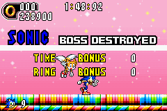 Sonic Advance 2 - Yes! ^_^ - User Screenshot