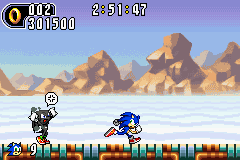 Sonic Advance 2 - Level  - LOL - User Screenshot