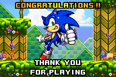 Sonic Advance 2 - Cut-Scene  - 1 down, 3 to go ^_^ - User Screenshot