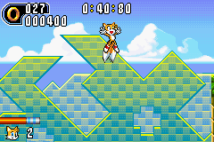 Sonic Advance 2 - Level  - Wheeee! - User Screenshot
