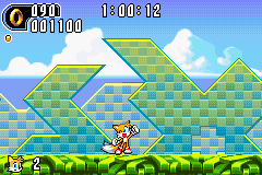 Sonic Advance 2 - Level  - awww ^_^ - User Screenshot