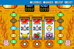 Pokemon Shiny Gold - Mini-Game  - Super- Jackpot!!! - User Screenshot