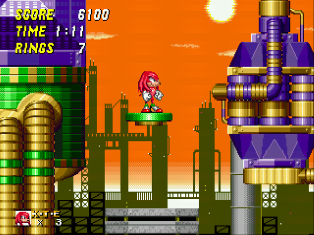 Sonic and Knuckles & Sonic 2 - cool  - User Screenshot