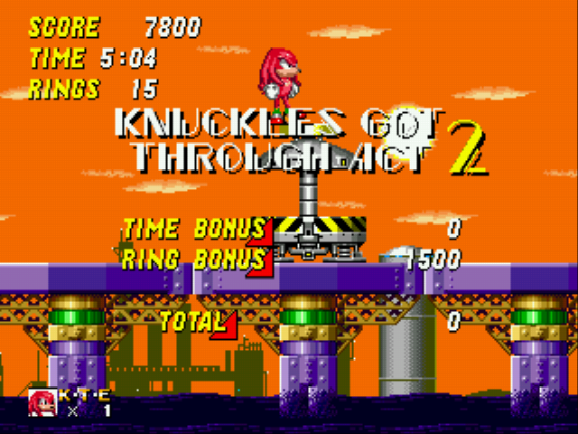 Sonic and Knuckles & Sonic 2 - yes baby! - User Screenshot