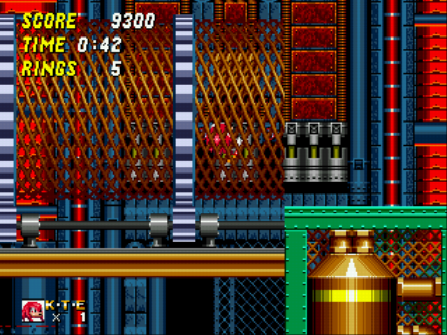 Sonic and Knuckles & Sonic 2 - corkscrew - User Screenshot