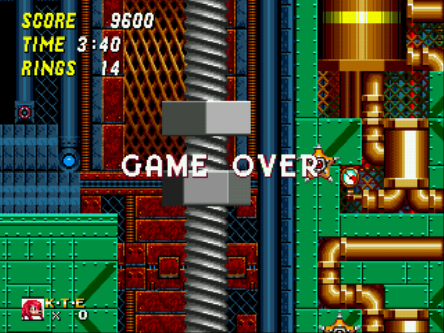 Sonic and Knuckles & Sonic 2 - dang - User Screenshot