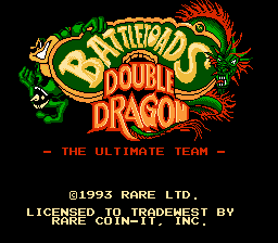 Battletoads & Double Dragon - Introduction  -  - User Screenshot
