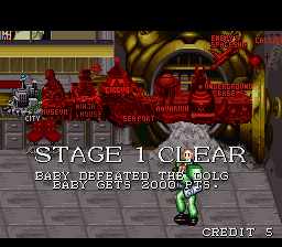 Captain Commando - Level  - stage 1 - User Screenshot