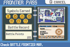 Pokemon Rebirth - Character Profile Battle Frontier - The Entire Gold Symbol Set - User Screenshot