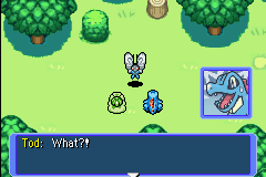 Pokemon Mystery Dungeon - Red Rescue Team - Cut-Scene  - OM NOM NOM! - User Screenshot