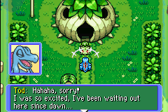 Pokemon Mystery Dungeon - Red Rescue Team - Cut-Scene  - Creeper.... - User Screenshot