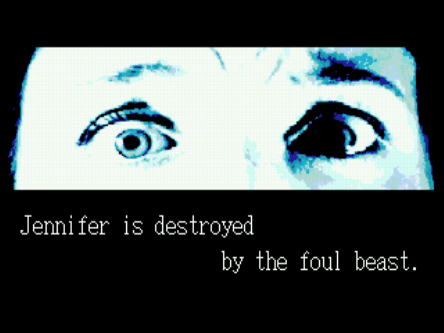 Splatterhouse 3 - Sad eyes. - User Screenshot