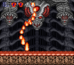 Contra III - The Alien Wars - Battle  - s of flames? - User Screenshot