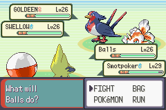 Pokemon Emerald - Battle  - My electric duo! - User Screenshot