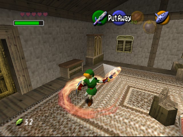 Legend of Zelda, The - Ocarina of Time - Misc Attack - Epic link - User Screenshot
