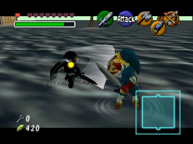 The Legend of Zelda - Ocarina of Time - Cut-Scene  - So close! - User Screenshot