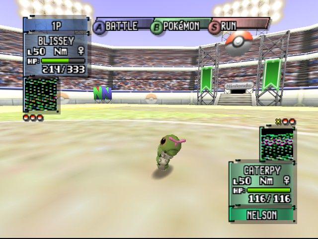 Pokemon Stadium 2 - Battle  - Its sooooo cute! :D - User Screenshot