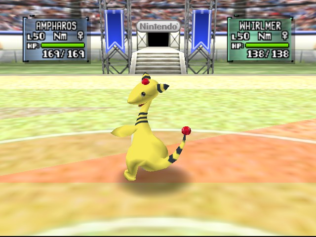 Pokemon Stadium 2 - Battle  - Twerk it girl! XD - User Screenshot