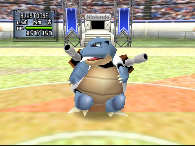 Pokemon Stadium 2 - Battle  - Cannon swag - User Screenshot