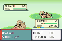 Pokemon Emerald - Battle  - zzzz it looks like it will be long battle - User Screenshot