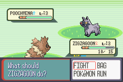 Pokemon Ruby - Battle  - but your back into it and fight - User Screenshot